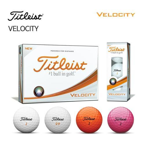 [타이틀리스트] 벨로시티 Velocity 골프공 골프볼 (2피스/12알)