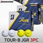 브리지스톤 TOUR-B JGR 3피스 골프볼 골프공 펄화이트2종