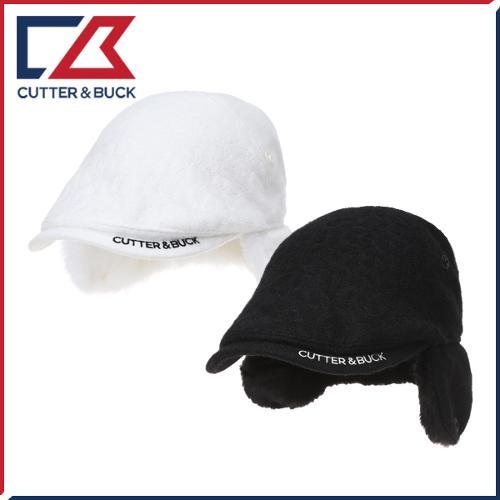 커터앤벅 여성 겨울 방한 울소재 귀마개 골프모자/헌팅캡 - PB-14-174-214-06