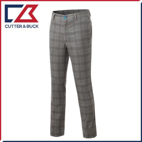 커터앤벅 남성 노턱 면소재 체크 패턴포인트 골프바지/팬츠 - SL-12-153-104-58