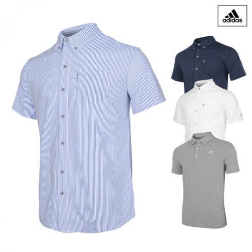 아디다스 시즌오프 특가 남성 기능성 골프 셔츠 [95사이즈]