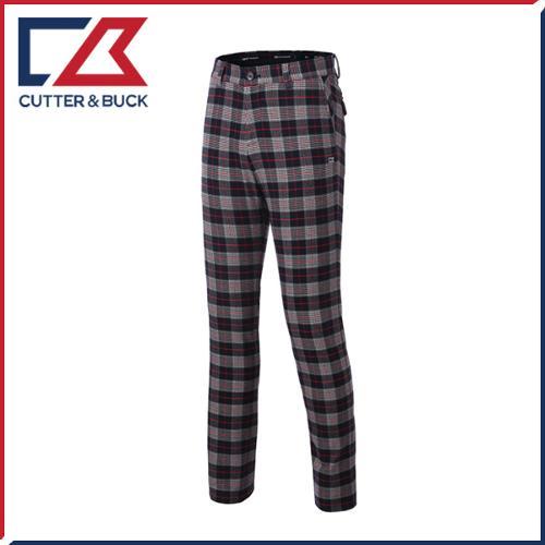 커터앤벅 남성 스판소재 체크 패턴포인트 골프바지/팬츠 - SL-11-163-104-22