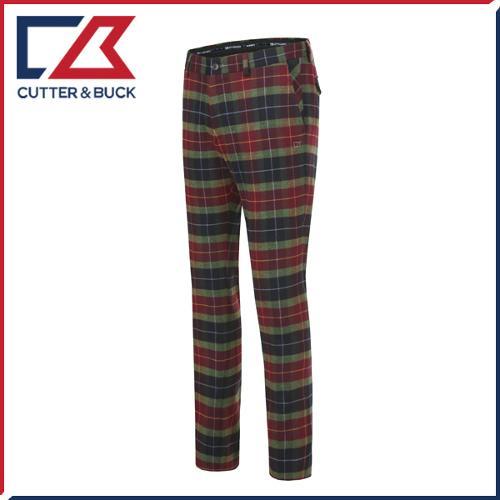 커터앤벅 남성 노턱 스판소재 패턴 체크무늬 골프바지/팬츠 - SL-11-164-104-24