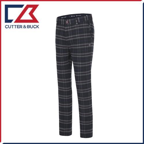 커터앤벅 남성 노턱 스판소재 패턴 체크무늬 골프바지/팬츠 - SL-11-164-104-23