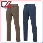 커터앤벅 남성 노턱 면소재 체크무늬 골프바지/팬츠 - SL-12-163-104-56