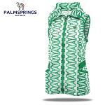 [팜스프링] 매쉬 에펠탑무늬 셔링밴드 여성 바람막이 조끼/골프웨어_239923