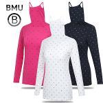 [BMU 골프웨어] 스마일 래빗 패턴 스판 여성 귀달이 이너웨어/골프웨어_240327