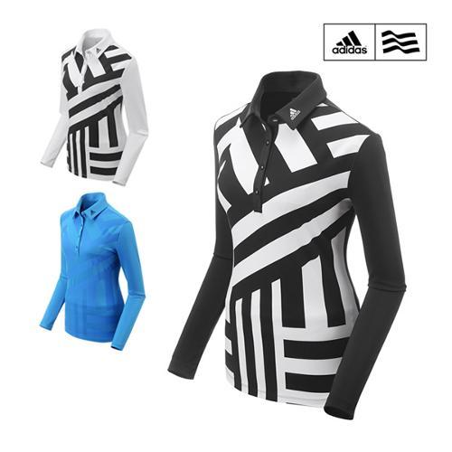 아디다스 FW 여성 클라이마라이트 AOP LS 긴팔 티셔츠 CG2274 CG2276 CG2277 골프웨어 골프의류