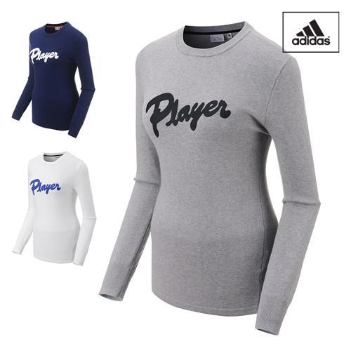 아디다스 FW 풀오버 여성 긴팔 티셔츠 BC7216 BC7217 BC7218 골프웨어 필드웨어 ADIDAS