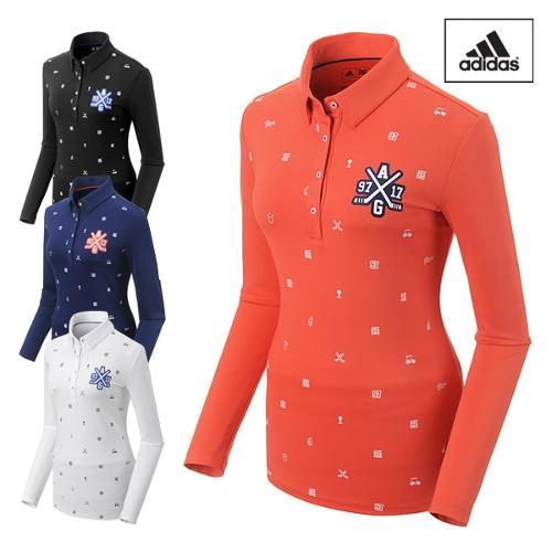 아디다스 클라이마라이트 여성 긴팔 티셔츠 BC7175 BC7176 BC7177 BC7178 골프웨어 필드웨어