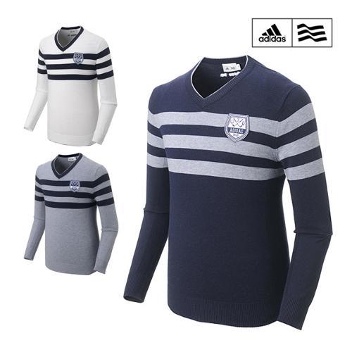 아디다스 FW 스웨터 풀오버 남성 긴팔 티셔츠 N68073 N68074 N68075 골프웨어 골프의류 필드용품 ADIDAS