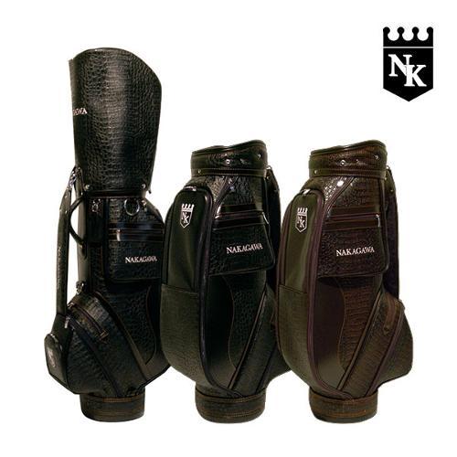 나카가와 악어무늬원단 남성 캐디백 NK-11M