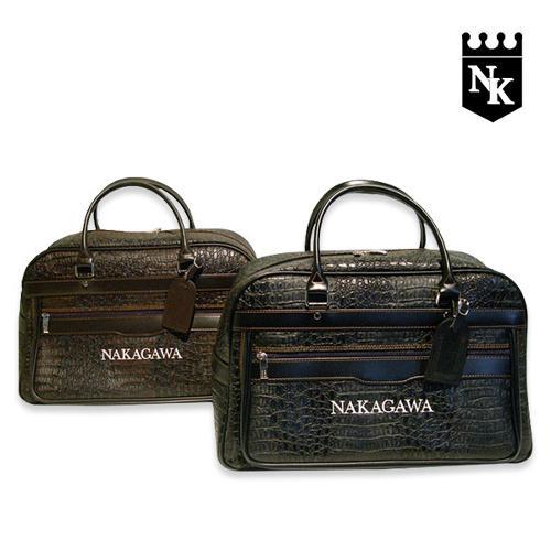 나카가와 악어무늬원단 남성 보스턴백 NK-11M