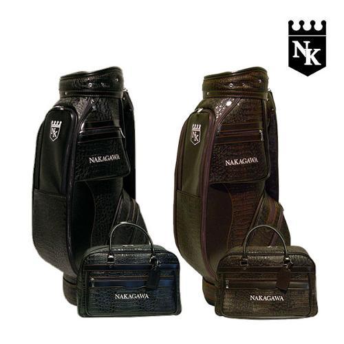 나카가와 악어무늬원단 남성 캐디백세트 NK-11M