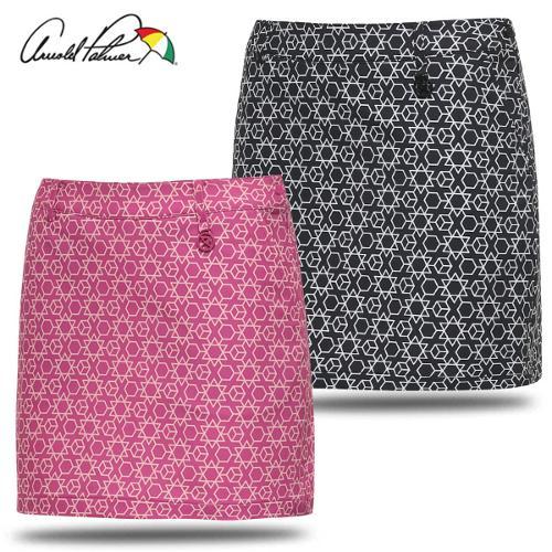 [아놀드파마] 폴리스판 미니 그래픽 패턴 여성 골프 큐롯/골프웨어_240724