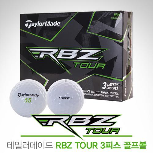 [2018년신제품]테일러메이드코리아 RBZ TOUR 3피스 골프볼(12알)
