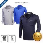 [파크타운] 가볍게 입을 수 있는 카라PK 골프긴팔티셔츠 4종 택일