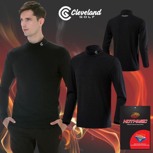 [클리브랜드골프] HOT MAGIC 보온기모/체온유지 남성 하프넥 긴팔 골프티셔츠/보온 이너웨어_CGKMIT350