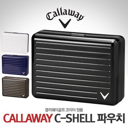 캘러웨이 정품 C-SHELL(C-쉘) 하드케이스 남여공용 골프 파우치