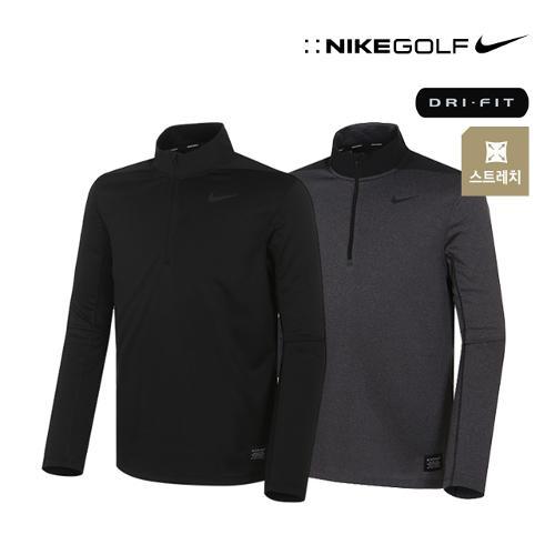 [나이키골프] 남성 DRY FIT 기능성 절개배색 반집업 티셔츠 2종 택1_GA
