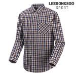 [이동수스포츠] 남성 투톤 체크 디자인 셔츠 (H6CSH8020-D1)