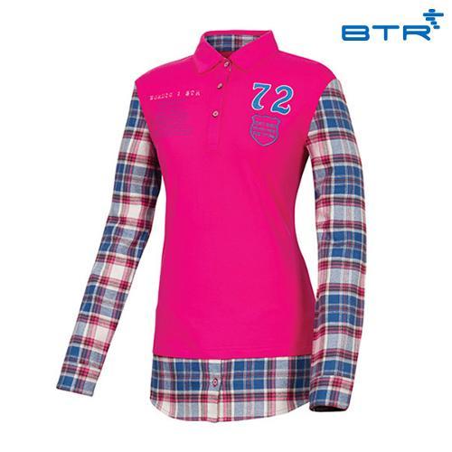 BTR 셔츠 레이어드형 티셔츠 메이시(여) BMT4026W