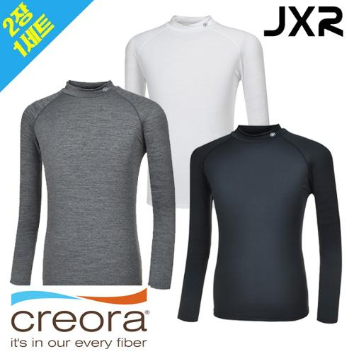 [2장 1세트]JXR 발란스 체온보온 사계절용 이너웨어 겸용 티셔츠(남/여)
