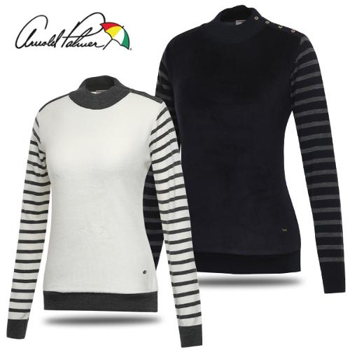 [아놀드파마] 스웨터 믹스 앤 매치 여성 긴팔 니트/골프웨어_240241