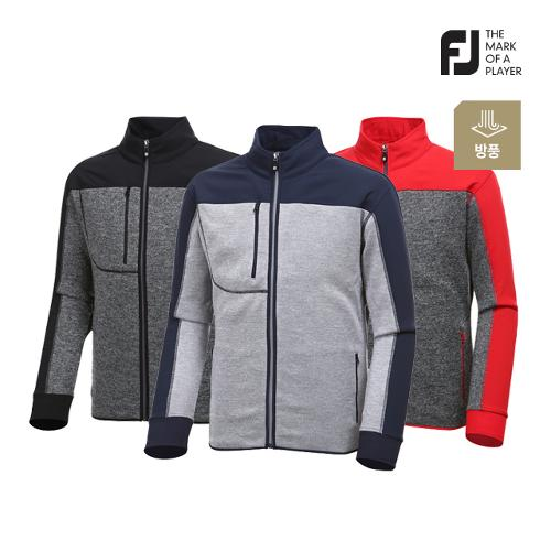 [풋조이] 남성 컬러 배색 스웨터 자켓 3종 택1_GA