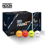 [오늘만이가격]2019 넥센 투어 엑스 프로 36구 무광 골프공 컬러믹스