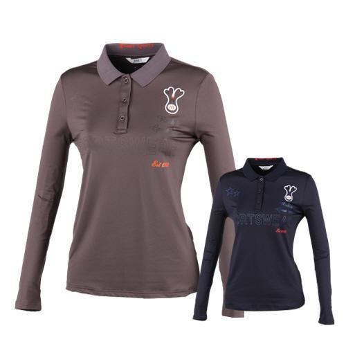 럭스골프 여성용 긴팔 캐릭터 티셔츠 BMU8A609