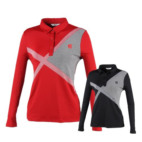럭스골프 여성용 긴팔 퍼포먼스 티셔츠 BMU8A610