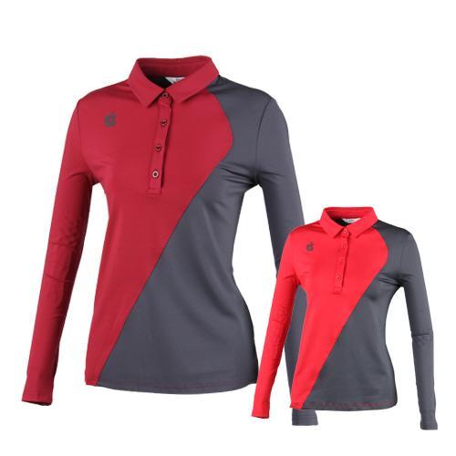 럭스골프 여성용 긴팔 퍼포먼스 티셔츠 BMU8A611