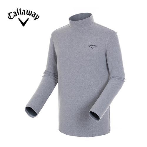 [캘러웨이]18FW 남성 엠보 스트라이프 믹스 티셔츠 CMTHH4153-193