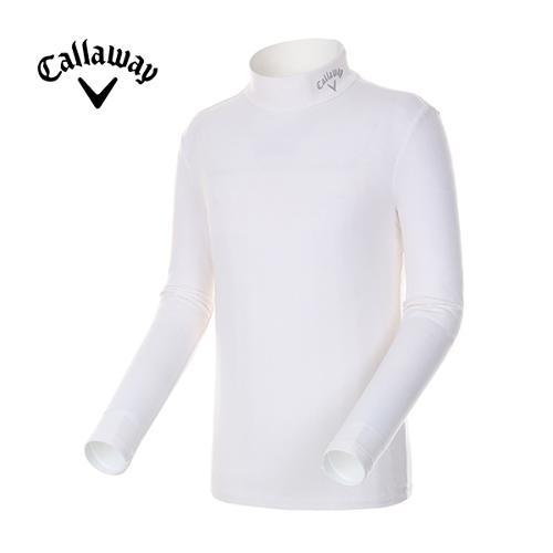 [캘러웨이]남성 솔리드 하이넥 티셔츠 CMTHE4191-101