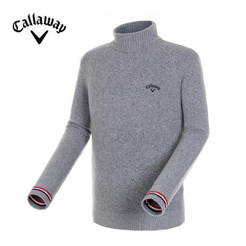 [캘러웨이]18FW 남성 컬러 배색 폴라 스웨터 CMSHH4201-193