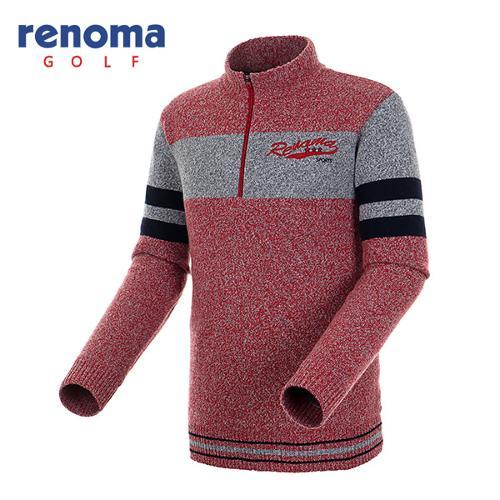 [레노마골프]남성 슬리브 방풍 니트 스웨터 RMSHF4207-500