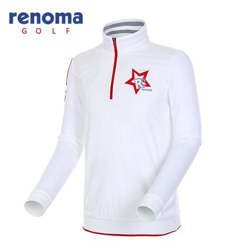 [레노마골프]남성 별 와펜 반집업 티셔츠 RMTHF3105-101