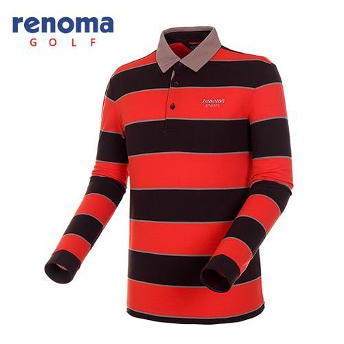 [레노마골프]남성 볼드 코튼 피케 티셔츠 RATS13541-OR