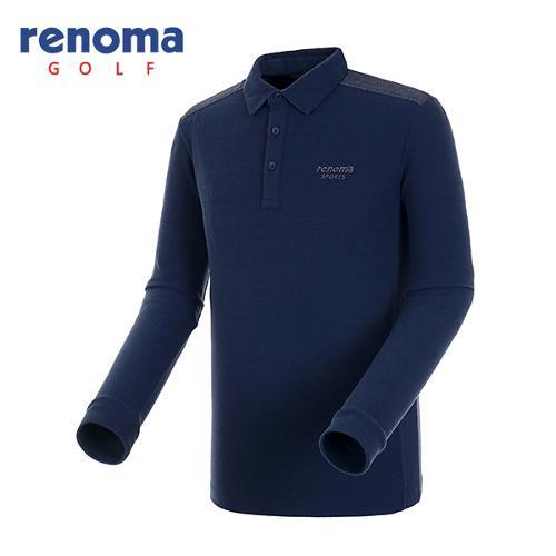 [레노마골프]남성 데님 패치 솔리드 티셔츠 RATSU1561-NY