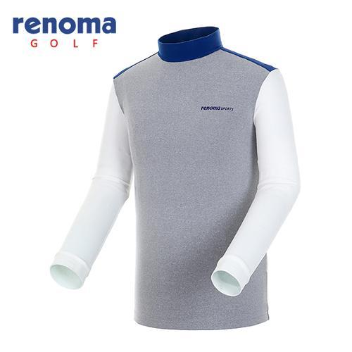 [레노마골프]남성 소프트 컬러블록 티셔츠 RATS21561-MG