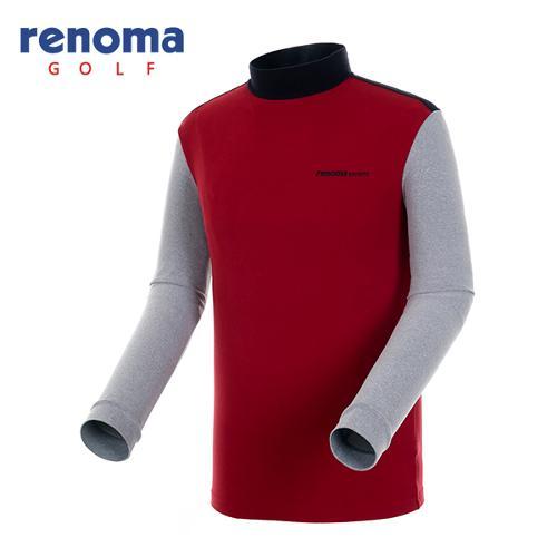 [레노마골프]남성 소프트 컬러블록 티셔츠 RATS21561-DR
