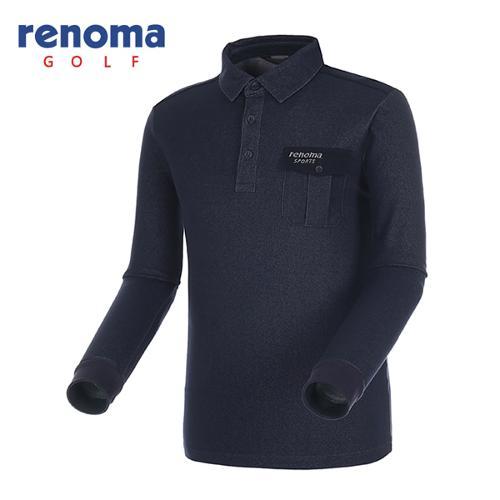 [레노마골프]남성 아웃포켓 카라 티셔츠 RATS14541-NY