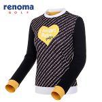 [레노마골프]여성 레터링 컬러 블록 티셔츠 RWTRF7108-199