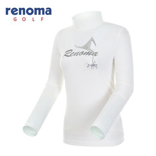 [레노마골프]여성 시퀸 모티브 하이넥 티셔츠 RATS63541-OW
