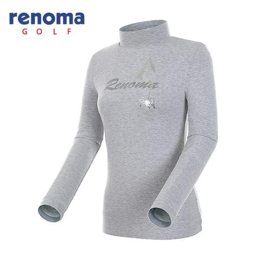[레노마골프]여성 시퀸 모티브 하이넥 티셔츠 RATS63541-MG