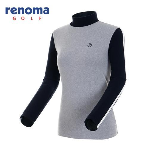 [레노마골프]여성 터치 컬러블록 하프넥 티셔츠 RATS71561-MG