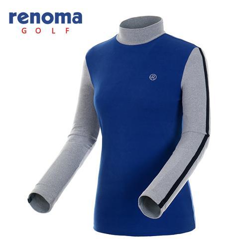[레노마골프]여성 터치 컬러블록 하프넥 티셔츠 RATS71561-RB