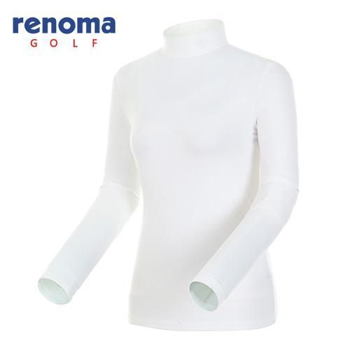[레노마골프]여성 소프트 터치 솔리드 티셔츠 RATS75561-OW
