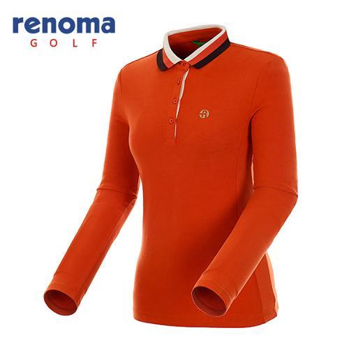 [레노마골프]여성 패널 라인  카라 티셔츠 RATS71461-DO